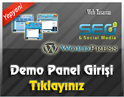 Demo Panel Girişi